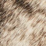 Hair on Hide Grey Brindle Leather